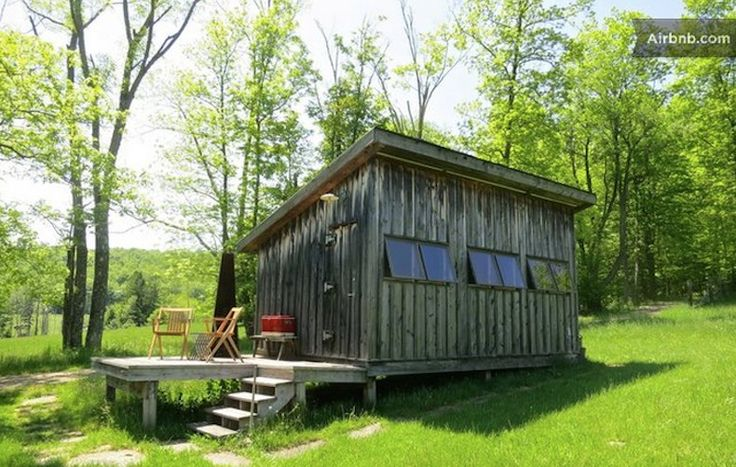 This cabin in upstate new york is surrounded by hiking for Upstate new york cabin