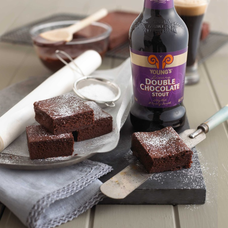 ... Double Chocolate Stout Brownies! | Young's Double Chocolate S