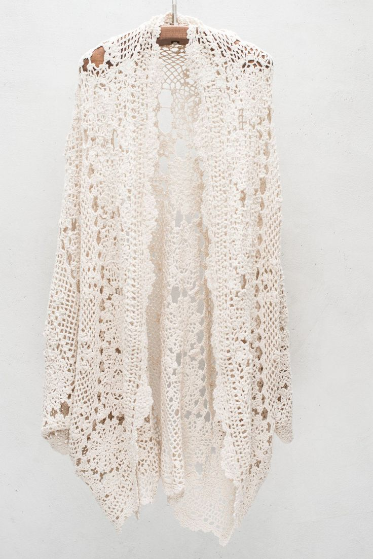 Crochet cardigan Clothes and Accessories Pinterest