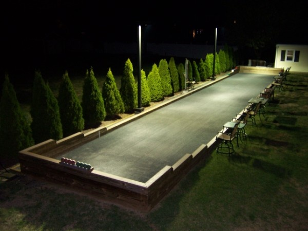 backyard bocce court backyard design pinterest