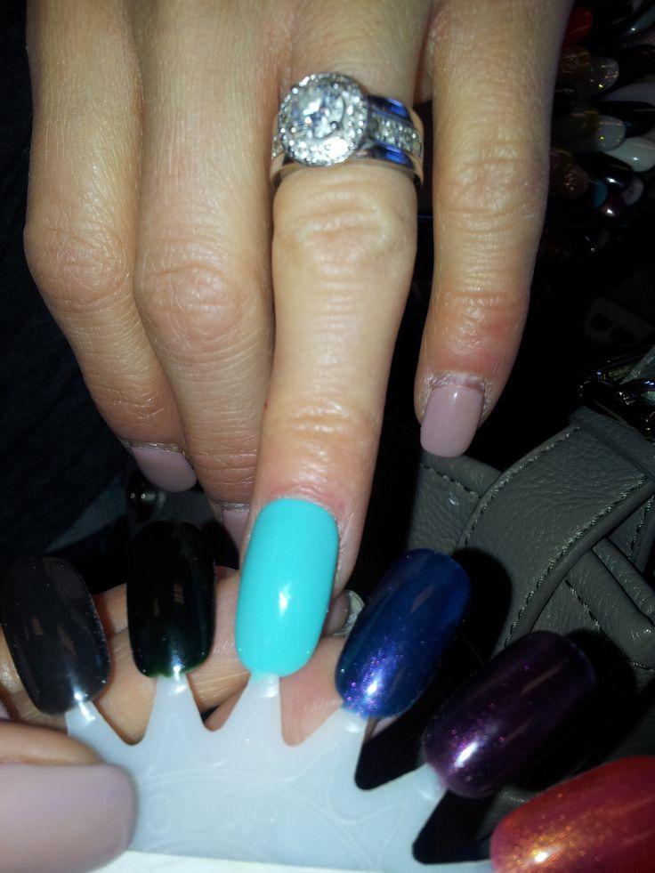 Moon River shellac color - my fav! -AB | Beauty: Nails | Pinterest