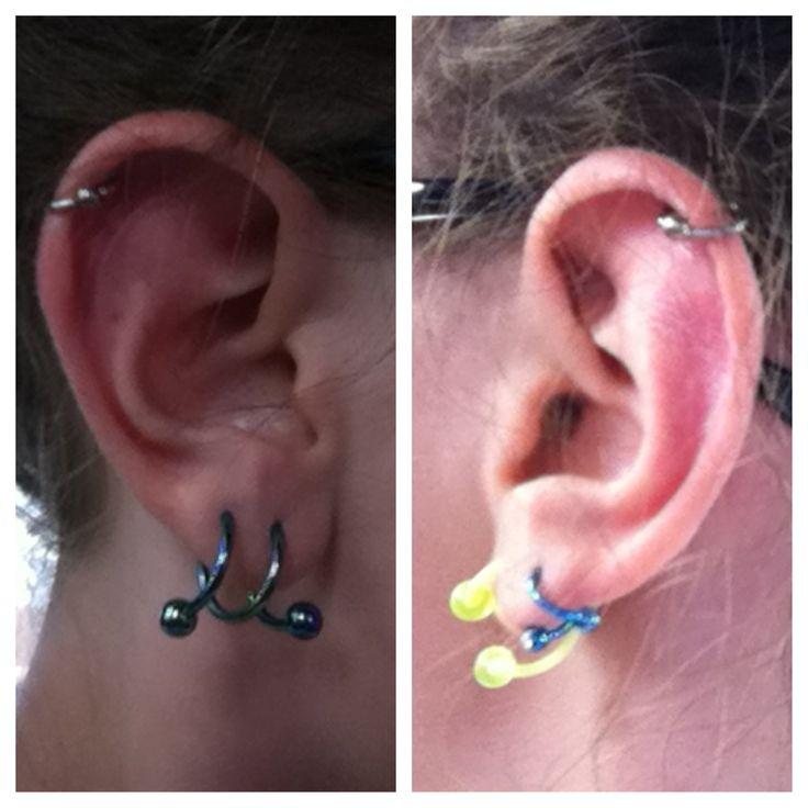 ear piercing helix hoop - photo #33