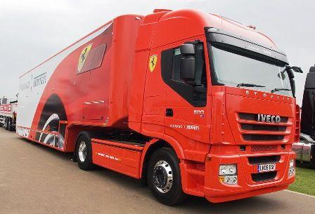 Iveco - Ferrari F1Cool Race Trucks