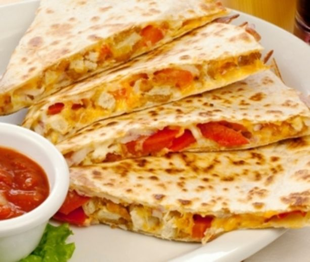 Apple Chicken Quesadillas Recipe | Low Carb & Low Calorie Savory | Pi ...