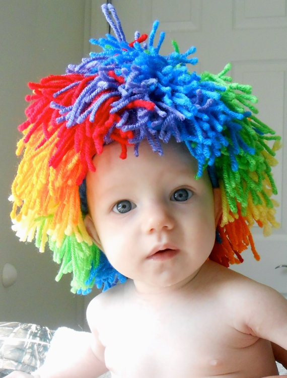 How To Make A Clown Wig
