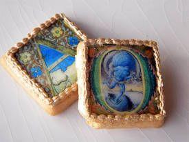 Illuminated manuscript cookies