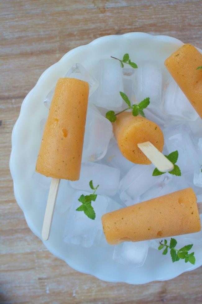 Melon Mint Popsicles | Horses & Heels