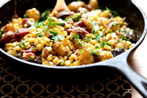 Sweet Corn Hash | Breakfast | Pinterest