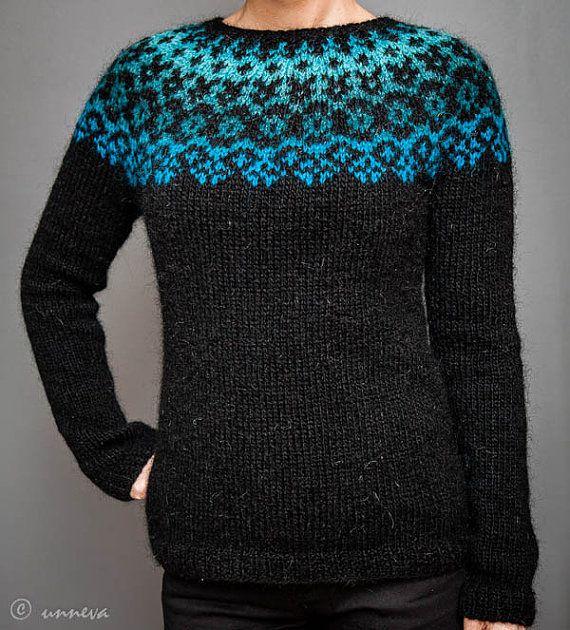 Knitting Patterns Lopi Wool : Icelandic Lopi Sweater icelandic wool / lopi Pinterest