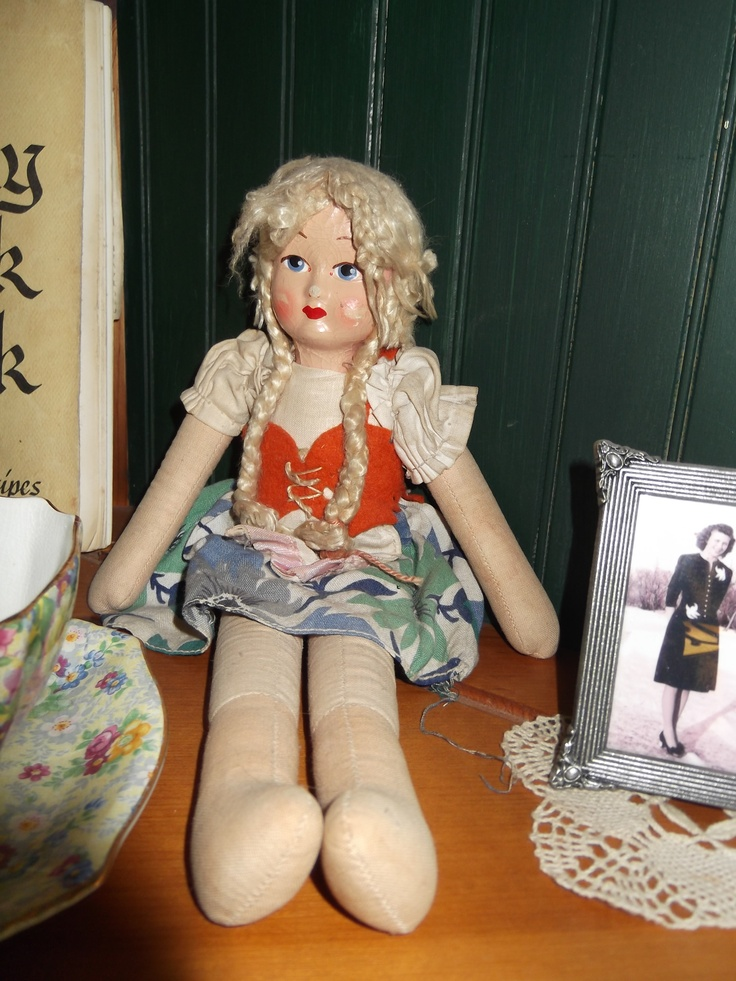 old doll, 55+ years old