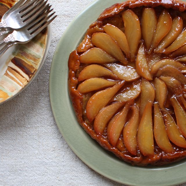 Yummy Supper: Pear Tart Tatin | Christmas | Pinterest