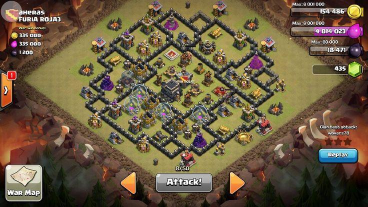 clash of clans base jalantikus