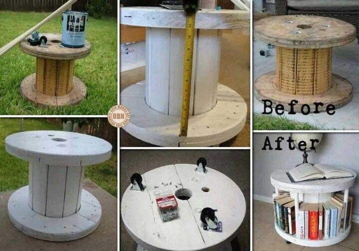 Bookshelf Coffee Table DIY Pinterest
