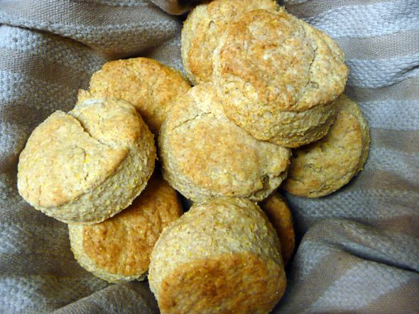 Thanksgiving Aftermath & Parmesan Cornmeal Biscuits