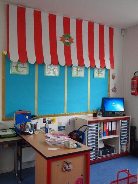 Classroom Theme Ideas Cafe ~ Book fair decoration library ideas pinterest