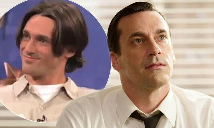 Videos Jon Hamm Makes Fun of His '90s Dating Show Appearance