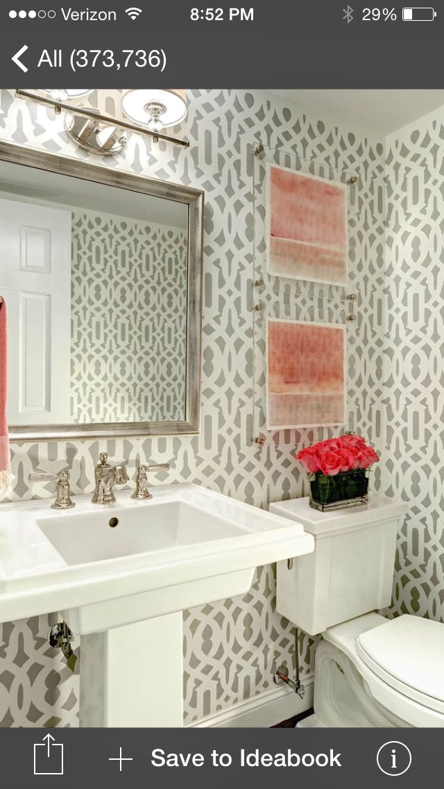Powder Room Decorating Ideas Pinterest