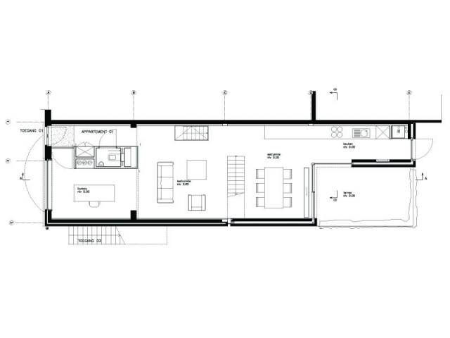 Uitbouw Keuken En Living : uitbouw keuken Achterbouw Pinterest