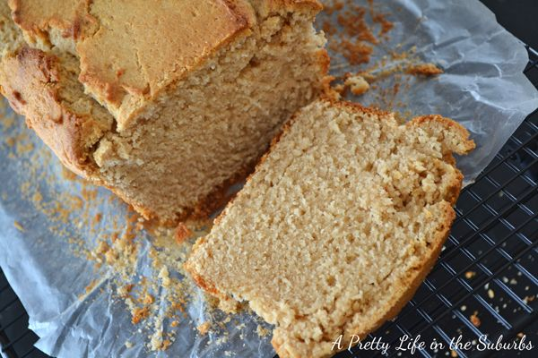 Peanut Butter Bread (Loaf) SO peanut buttery!