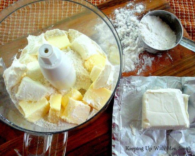 Cream Cheese pie crust | Desserts | Pinterest