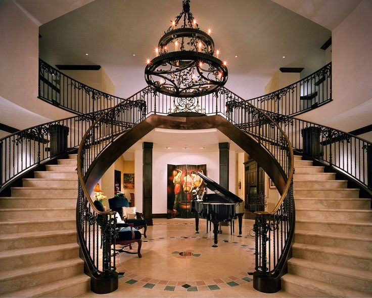 Double staircase   gorgeousGrand Double Staircase