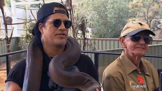Rocker Slash helps launch new wildlife foundation