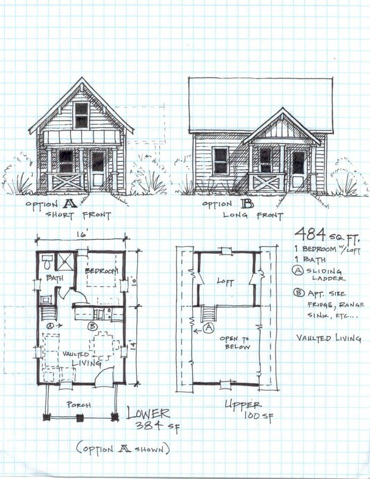 Small Cabin Floor Plans With Loft 823 Cabin Pinterest