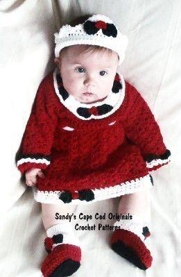 Crown Booties Crochet Pattern | Red Heart