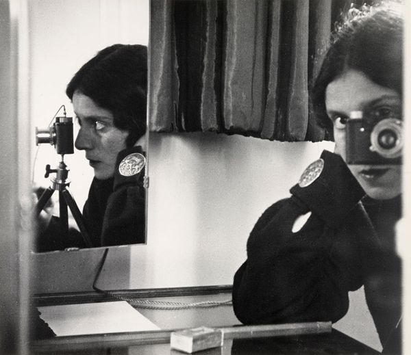 famous photographers self portraits mirrors