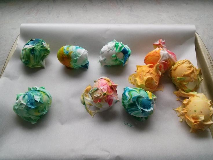 Shaving Cream Easter Egg Dye Creative Uses Of Common