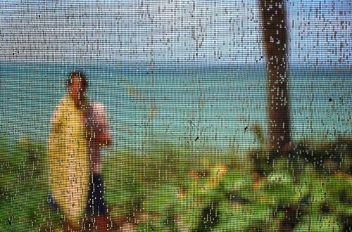 Untitled #9, by  Matthew Tischler - shot through a window screen to pixelate the image. Love!