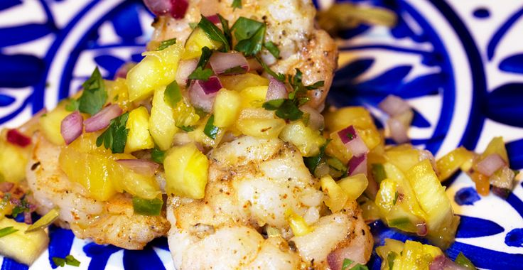 Our Paleo Pineapple Cilantro Salsa, a sweet & spicy fruit salsa is ...