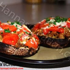 Stuffed Portobello Mushroom | Eat first. Talk later. | Pinterest