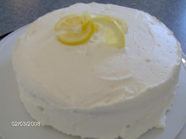 Lemon Velvet Layer Cake | Recipe