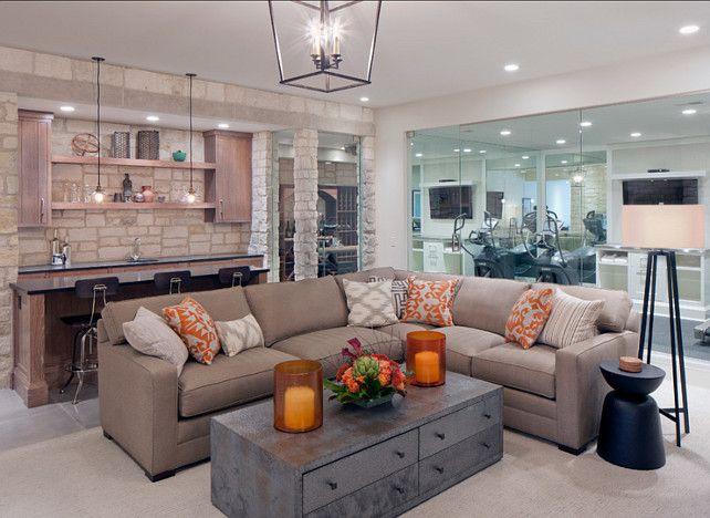 Basement Family Room : Basement Family Room #Basement  Basement  Pinterest