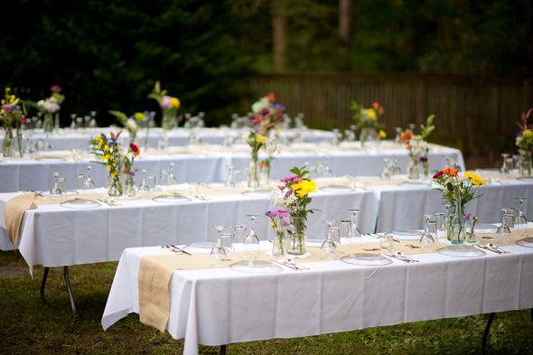 diy backyard wedding reception diy pinterest