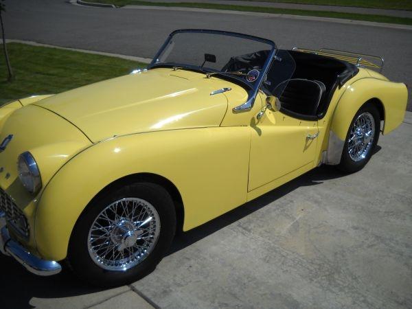 bond james bond ... 1959 TR3A | motor cars | Pinterest