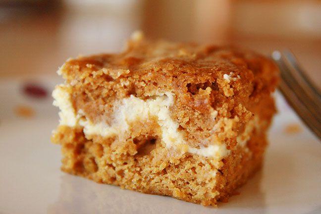 Pumpkin Cream Cheese Bars | Brownies & Bars | Pinterest