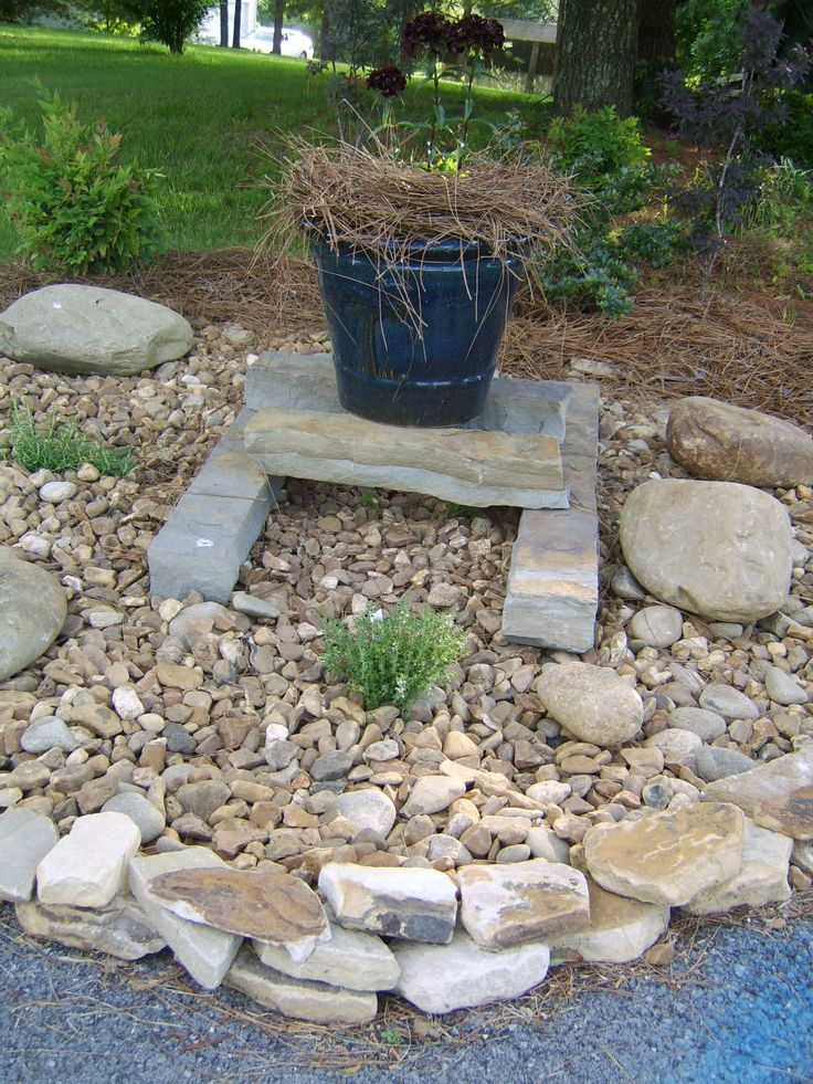 Xeriscape Ideas Getting Stoned Gasp Pinterest