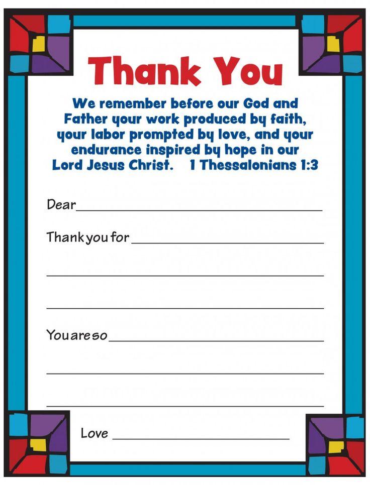 Free Printable - Pastor Appreciation Cards!