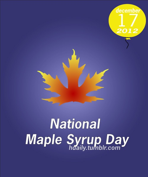 National Maple Syrup Day! | Get on the Calendar | Pinterest