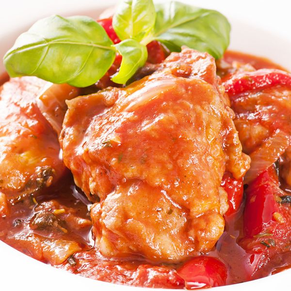 Crock pot cooking makes for easy meals. Crock Pot Chicken Cacciatore ...