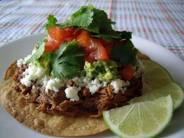 Beef Tostadas - iVillage AU | FOOD | Pinterest