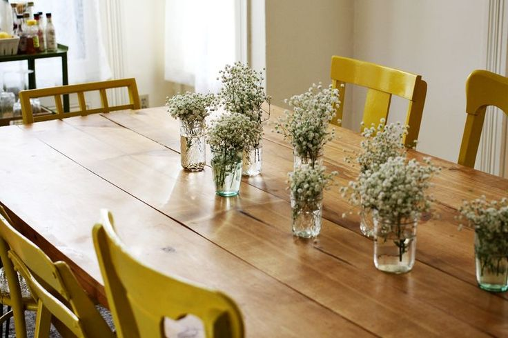 Homemade Dining Room Table Picture 2018