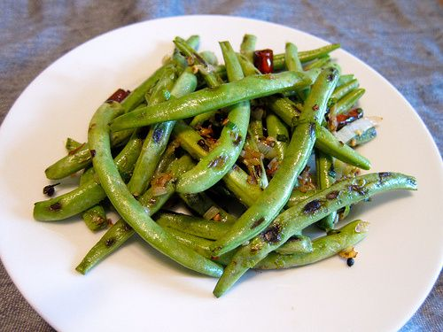 Dry-Fried Green Beans 乾扁四季豆 | NO Meat & Veggies | Pinterest