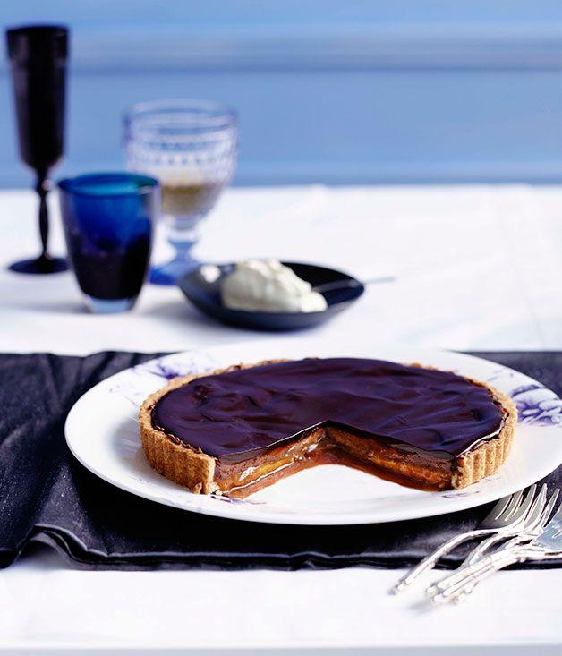 Chocolate and caramel tart   Sugar Sweet Sunshine   Pinterest