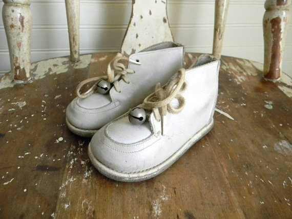 Baby Walking Shoes Jingle Bells Nostalgia