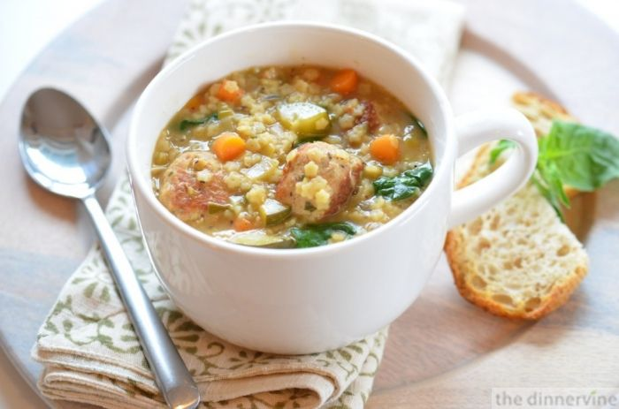 Not Italian Wedding Soup | No Soup For You! | Pinterest