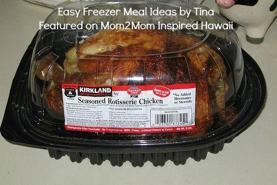 Easy freezer meal yummy food pinterest
