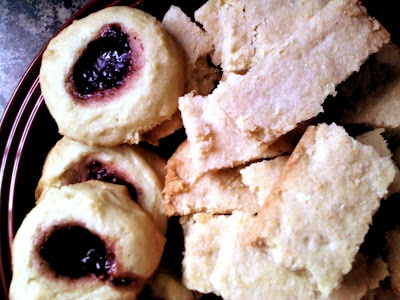 Split Second Cookies, and Smashed Short Bread. =) Two family recipe ...